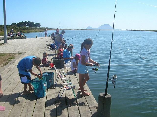 Thornton bar for Long beach sport fishing